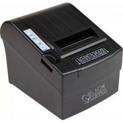 Black Copper Turbo Thermal Printer BC-85AC