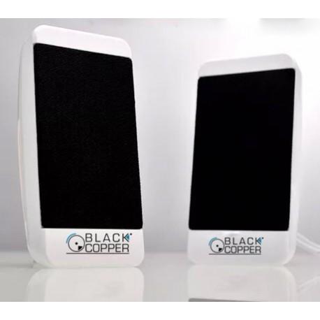 Black Copper Multimedia USB Speaker Crystal A3