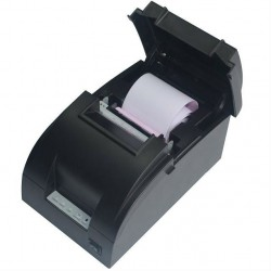 Black Copper 76mm Dot Matrix Thermal Receipt Printer BC-7650