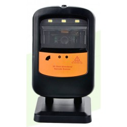 Black Copper QR Barcode Scanner BC-404